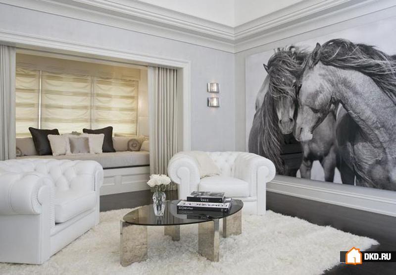Для любителей лошадей: 20 идей с картинами лошадей для Вашего дома