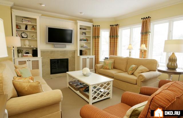 2 дивана в гостиной дизайн