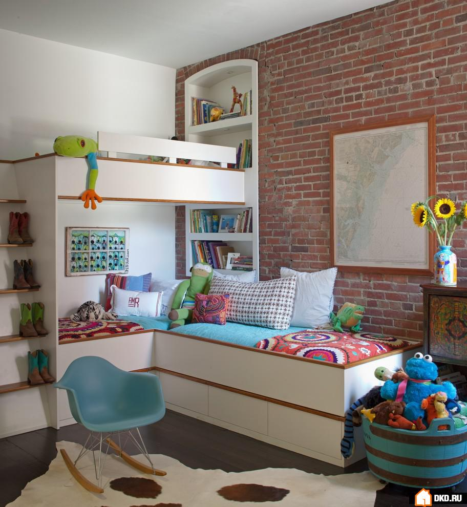100 лучших идей дизайна: потолок в детской